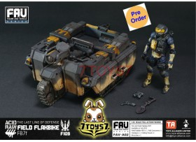 [Pre-order] ORITOY 1/18 Acid Rain: FAV02 Field Flakbike FB7f_ Box Set w/ Pilot _OT024Z