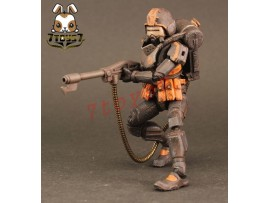 [Pre-order] ORITOY 1/18 Acid Rain: Flame Trooper Omange Military_ Box Set _OT017Z