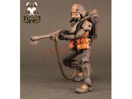 ORITOY 1/18 Acid Rain: Flame Trooper Omange Military_ Box Set _OT017Z-Pre-Order