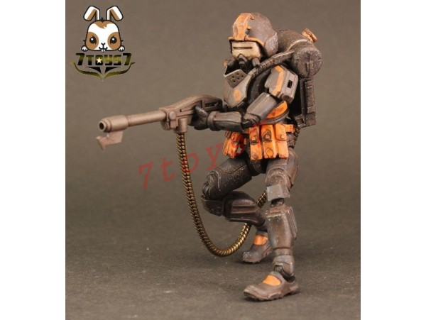 ORITOY 1/18 Acid Rain: Flame Trooper Omanga Military_ Box Set _OT017Z