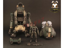 ORITOY 1/18 Acid Rain: Laurel Airbourne_ Box Set w/ Soldier _Now OT019Z