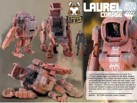[Pre-order] ORITOY 1/18 Acid Rain Laurel Corpse_ Box Set_ OT010X