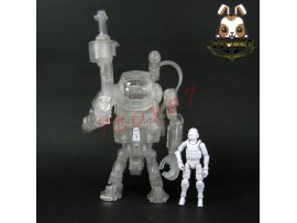 ORITOY 1/18 Acid Rain: Laurel Ghost7 w/ pilot_ Box Set _Transparent Now OT007Y