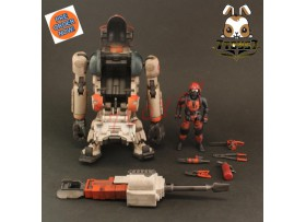 [Pre-order] ORITOY 1/18 Acid Rain: Laurel Rescue_ Box Set w/ Pilot _OT023Z