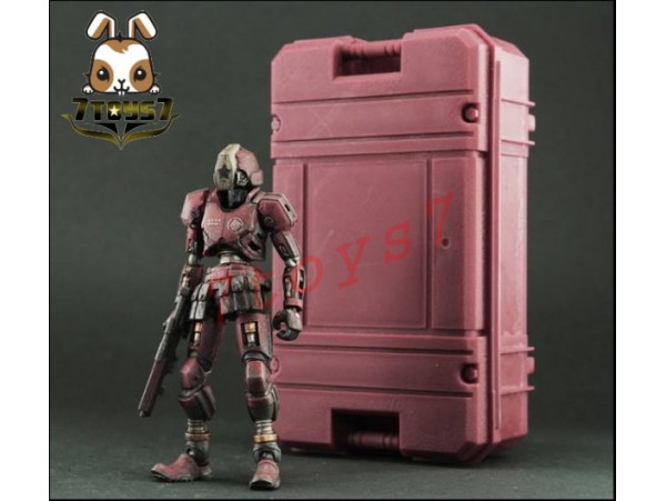 ORITOY 1/18 Acid Rain: Puppet Container Guard_ Box _Hong Kong Exclus OT014Z