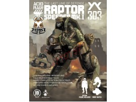 ORITOY 1/18 Acid Rain: Raptor Speeder Mk I (Marine)_ Box Set _Now OT005Z