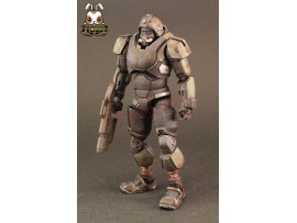 [Pre-order] ORITOY 1/18 Acid Rain: Reborn Trooper Omange Military_ Box Set _OT017Y
