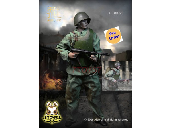 [Pre-order deposit] Alert Line 1/6 AL100029 WWII Soviet Red Army Combat Engineer_ Box Set _AL005Z