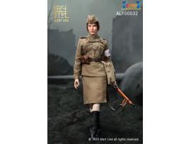 Alert Line 1/6 AL100032 WWII Female Medical Soldier_ Box Set _Soviet AL008Z
