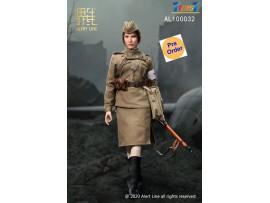 [Pre-order deposit] Alert Line 1/6 AL100032 WWII Female Medical Soldier_ Box Set _Soviet AL008Z