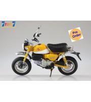 [Pre-order deposit] Aoshima 1/12 Honda Monkey125 Motorcycle: Bananas Yellow_ Set _AO004C