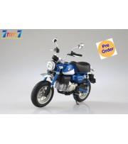 [Pre-order deposit] Aoshima 1/12 Honda Monkey125 Motorcycle: Pearl Glittering Blue_ Set _AO004B