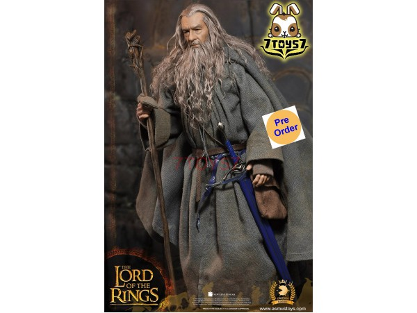 Asmus Toys 1/6 CRW001 The Crown Series: The Lord of the Rings: Gandalf the Grey 2.0_ Box Set _AS054Z