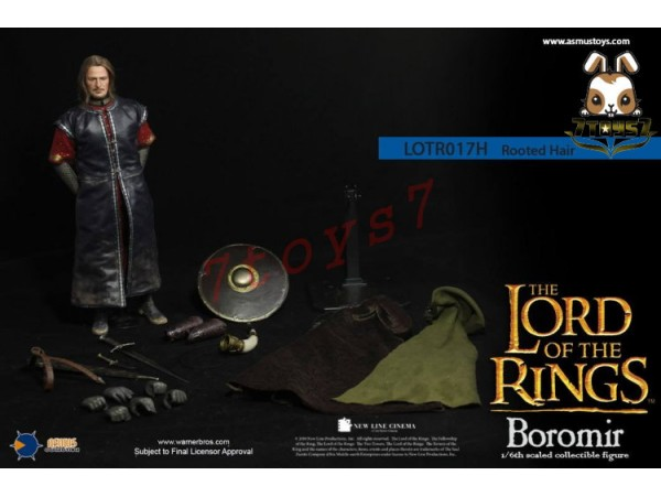 Asmus Toys 1/6 LOTR017H The Lord of the Rings Series: Boromir_ Rooted hair Box Set _LOTR AS038Z