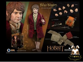 Asmus Toys 1/6 HOBT07 The Hobbit: Bilbo Baggins_ Box Set _LOTR AS046Z