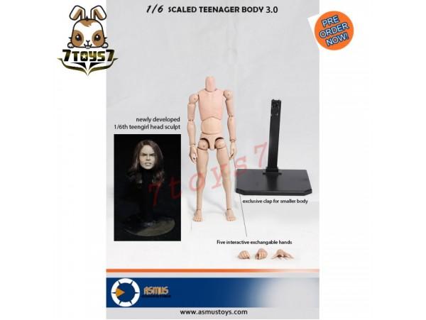 [Pre-order] Asmus Toys 1/6 TEENBD03 Teenager Body 3.0  & Girl head_ Set _AS041Y