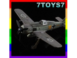 Aviation Model 1/144 Fw-190A-7 #70008_WWII German Fighter Ace Focke-Wulf AM004B