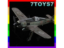 Aviation Model 1/144 FW-190 A-6 #70009_German Fighter Focke-Wulf w/ Wire AM004C