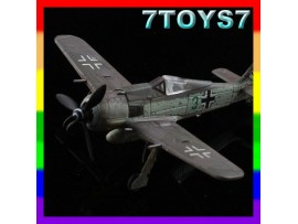 Aviation Model 1/144 FW-190A-6 #70011 _Built German Pilot Ace F-K Muller AM004E