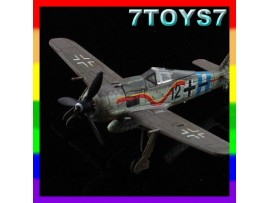 Aviation Model 1/144 Fw-190 #70013_German Fighter Focke-Wulf AM004G