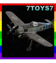 Aviation Model 1/144 Fw-190 #70014_WWII German Fighter ACE Focke-Wulf AM004H