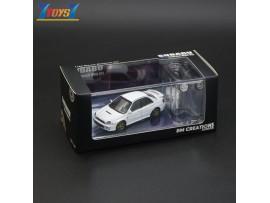 BMC 1/64 Subaru 2001 Impreza WRX - White (Right Hand Drive)_ Diecast Model Car _BMC001A