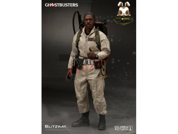 [Pre-order] Blitzway 1/6 Ghostbusters 1984 - Winston Zeddemore_ Box Set _Movie BW008D