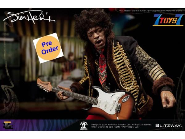 [Pre-order deposit] Blitzway 1/6 Jimi Hendrix_ Box Set _BW022Z