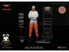 [Pre-order] Blitzway 1/6 Silence of Lamb Hannibal (Straitjacket Version)_ Box _BW010Z