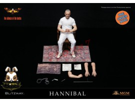 [Pre-order] Blitzway 1/6 Silence of Lamb Hannibal (white prisoner version)_ Box _BW010Y