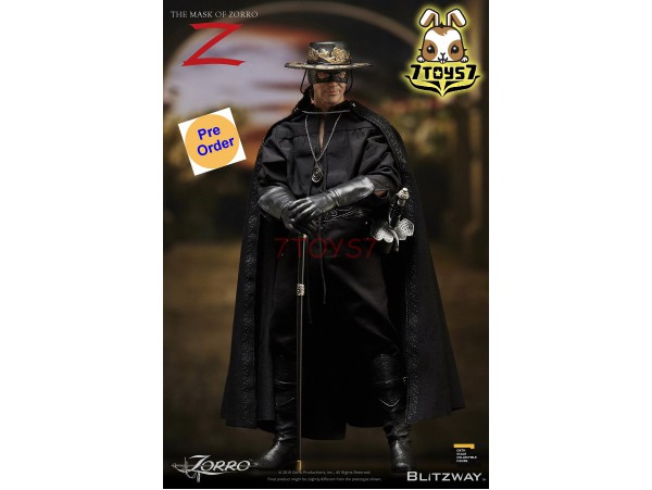 [Pre-order deposit] Blitzway 1/6 The Mask of Zorro 1998_ Box Set _BW015Z