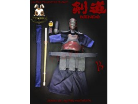 Brother Production 1/6 KENDO - Armour and clothing components_ Brown Set B _Japan Samurai Now BP014Z
