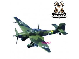 Cafereo 1/144 Dive Bomber#5 Ju87G-2 of Stab./SG2 German WWII CR001E