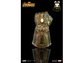 Camino: Thanos Infinity Gauntlet_ Flash light Keychain _The Avengers Infinity War Marvel Movie CI009A