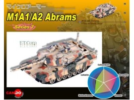 Cando S7 #46 1/144 M1A1HA Abrams US Army MBT _Tank: Can.do DAX02D