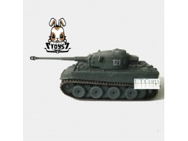 Cando 1/144 S18#121 Tiger I Initial s.Pz.Abt.502 Can.do German World WWII CAX08B