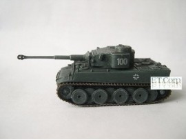 Cando 1/144 S18#123 Tiger I Initial sPz.Abt.502:German Tank WWII Can.do CAX08D