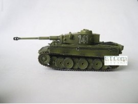 Cando 1/144 S18#125 Tiger I Initial sPz.Abt.501:German Tank WWII: Can.do CAX08F