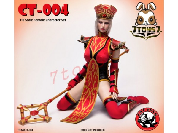 Cat Toys 1/6 CT004 Female Character_ Costume Set _Games Now ZZ112A