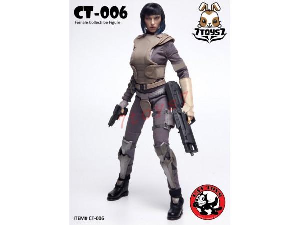 Cat Toys 1/6 CT006 Female Major Ghost_ Box Set _Scarlett Comics Movie Now ZZ112C
