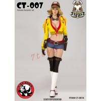 Cat Toys 1/6 CT007A Female Character Costume_ Yellow Set w/ Head _Now ZZ112D