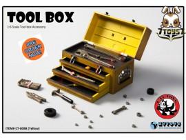 [Pre-order] Cat Toys x Zytoys 1/6 Tool Box_ Yellow Set _ZY024B