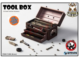[Pre-order] Cat Toys x Zytoys 1/6 Tool Box_ Brown Set _ZY024C