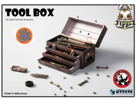 [Pre-order] Cat Toys x Zytoys 1/6 Tool Box_ Grey Set _ZY024D