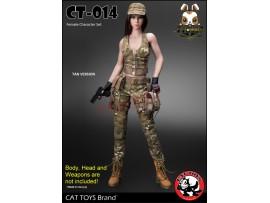 Cat Toys 1/6 CT014A Military Costume_ Tan Set _ZZ112Q
