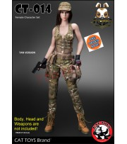 [Pre-order] Cat Toys 1/6 CT014A Military Costume_ Tan Set _ZZ112Q