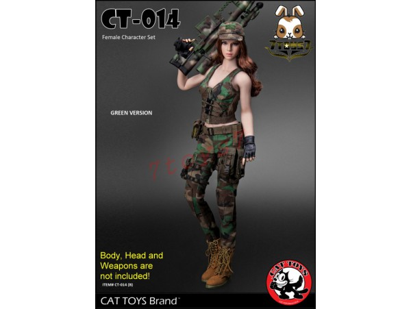 Cat Toys 1/6 CT014B Military Costume_ Green Set _ZZ112R