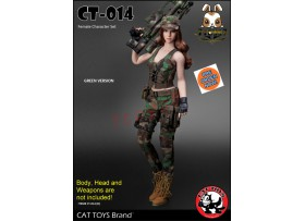 [Pre-order] Cat Toys 1/6 CT014B Military Costume_ Green Set _ZZ112R