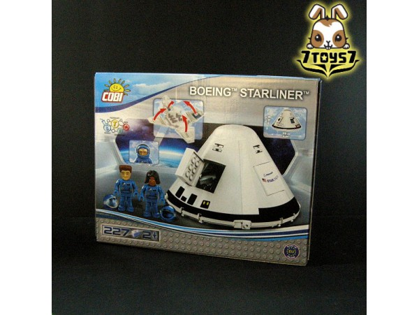 Cobi 26263 Boeing CST-100 Starliner_ Box _Space shuttle COB007D