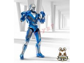 Comicave Studios 1/12 Iron Man 3 Mark 30 Blue Steel_ Diecast Box Set _Now CV003Y